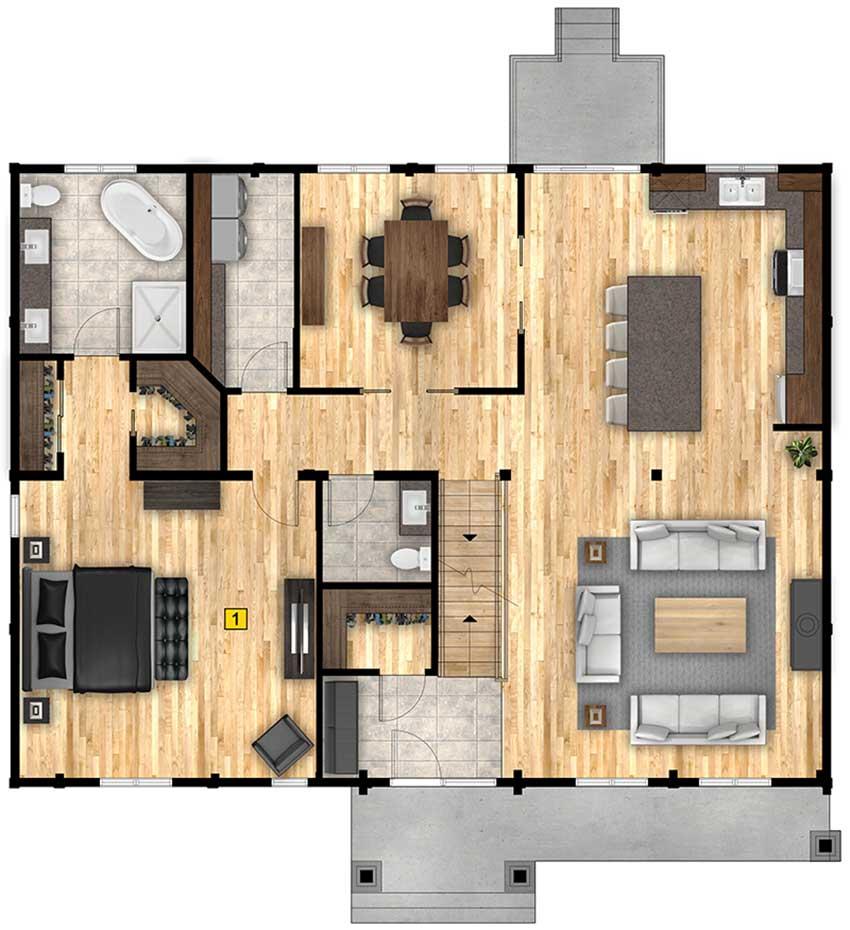 Denali Floorplan